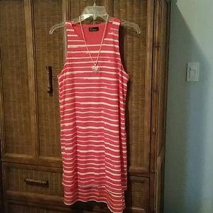 Gap two tier cotton /linen dress
